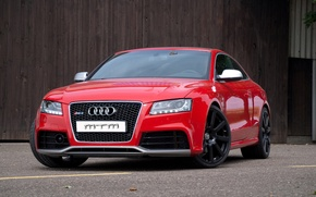 Picture red, Audi, tuning