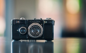 Picture background, Contax, camera