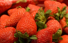 Picture berries, food, strawberry, a lot, delicious, Wallpaper from lolita777