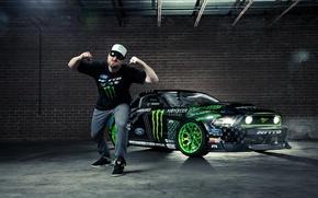 Picture Mustang, Ford, Monster Energy, RTR-X, Formula Drift, Vaughn Gittin Jr