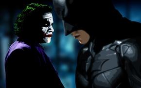 Picture batman, the dark knight, character, joker, movie, film, heath ledger