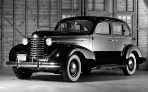 Picture retro, sedanf, oldsmobile-six, touring