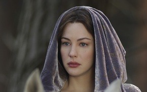 Wallpaper Liv Tyler, Middle earth, The Lord of the Rings, John Ronald Reuel Tolkien, elven realms, ...