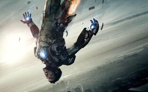 Picture flight, robert downey jr, iron man, iron man, Robert Downey Jr.