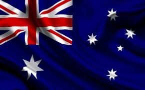 Picture Australia, Flag, Texture, Australia, Flag, Commonwealth Of Australia