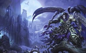 Picture Death, Death, Darksiders 2, Rider