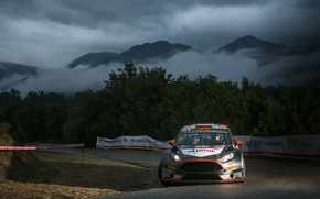 Picture Ford, WRC, France, Rally, Rally, Fiesta, FAS, Robert Kubica, Tour de Corse