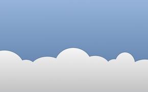 Picture blue, grey, cloud