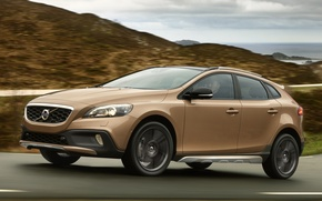 Picture Road, Volvo, Machine, Movement, Machine, Volvo, Car, Car, Brown, Cars, Cars, Road, Brown, Cross Country, …