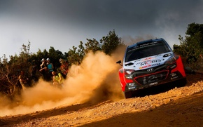 Picture Dust, Hyundai, WRC, Rally, i20, FAS