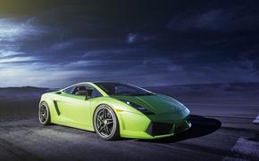 Picture green, Lamborghini, Gallardo, Lamborghini, green, Gallardo