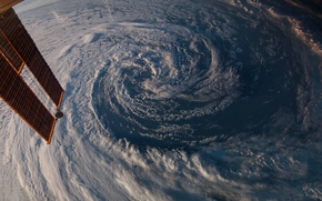 Picture space, storm, earth, planet, satellite, Australia, hurricane