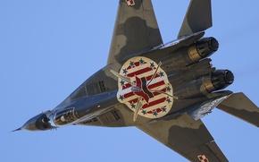 Wallpaper fighter, flight, multipurpose, MiG-29A