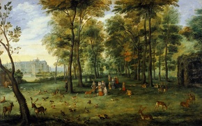 Picture landscape, picture, Jan Brueghel the younger