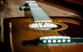 Wallpaper acoustics, music, guitar