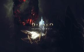 Picture Blizzard, Diablo III, harvester of souls, Reaper of Souls