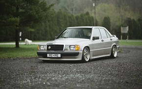 Picture Mercedes-Benz, stance works, W201, E190