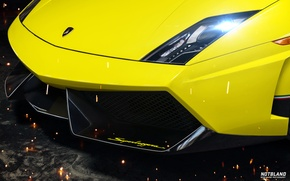 Picture lights, Lamborghini, before, Superleggera, Gallardo, bumper, LP 570-4, notbland