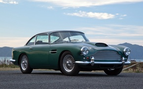 Picture Aston martin, supercar, old, DB4