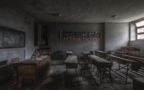 Picture Board, school, desks, Klas
