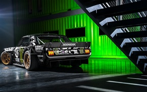 Picture Mustang, Ford, Monster, 1965, RTR, Block, Ken, Gymkhana, Energy, Rear, Hoonicorn, SEVEN, 845 hp