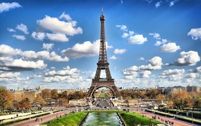 Picture Eiffel tower, Paris, France