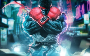 Picture fighter, capcom, ryu, Street Fighter 5