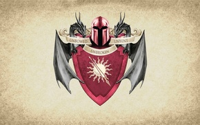 Wallpaper sun, symbol, series, dragon, A Song of Ice and Fire, Game of Thrones, shield, Martell, ...