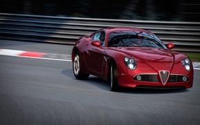 Picture track, Alfa Romeo, Graceful Entrance