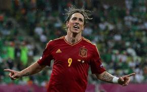 Wallpaper football, Spain, Fernando Torres, Spain, Chelsea