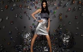 Picture dress, banks, Garbage