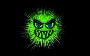 Picture monster, teeth, Nightmare