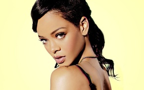 Picture face, music, rihanna