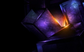Picture light, abstraction, render