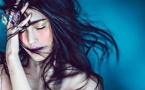 Picture Asian, model, Sui He, VICTORIA'S SECRET
