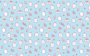 Picture background, texture, anime, art, children's