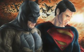 Wallpaper Henry Cavill, DC Comics, Batman, Superman, Batman V Superman: dawn of justice, Batman v Superman: ...