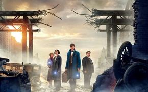 Picture Movie, Fantastic Beasts and Where to Find Them, Fantastic beasts and their habitats