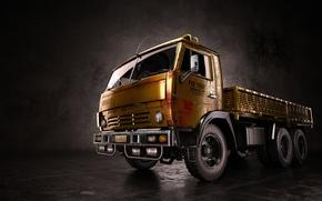 Picture truck, render, KAMAZ