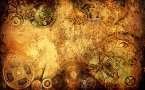 Picture style, Wallpaper, watch, steampunk, wallpaper, grunge, steampunk, watch