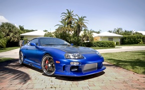 Wallpaper Toyota, Supra, Wallpaper widescreen