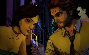Wallpaper the wolf among us, amog, wolf