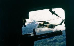 Wallpaper weapons, War, helicopter, Vietnam
