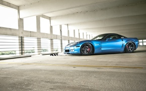 Picture Z06, Corvette, Parking, chevrolet, auto, Adv1wheels