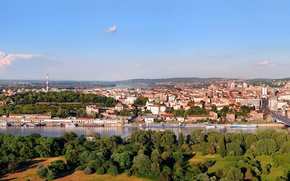 Picture the city, panorama, Serbia