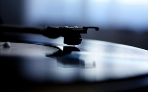 Picture style, music, photo, background, Wallpaper, player, vinyl, The record