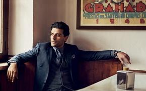 Picture costume, actor, photoshoot, Oscar Isaac, Oscar Isaac, Nathaniel Goldberg, GQ