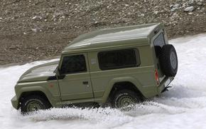 Picture snow, SUV, Iveco, campagnola