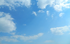Picture the sky, Clouds, inter-cloud blue