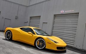 Picture Ferrari, 458, Wheels, Shop, HRE S104